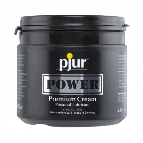 Pjur Power Cream - crème fort pouvoir lubrifiant pour pénétration extrêmes
