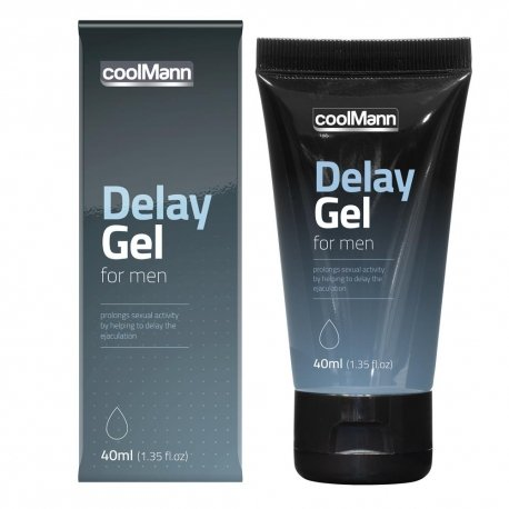 coolMann Delay Gel – Ejakulationsverzögerndes Gel