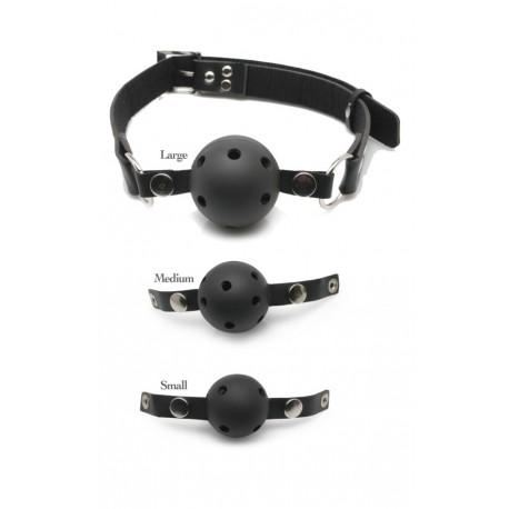 Kit Ball Gag - Gag: 3 verschiedenen Größen