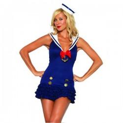 Sexy Matrosin, Seemannskostüm für Frauen!