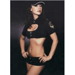 Polizistinnenkostüm: Jäckchen und Minishorts – Miami Vice!