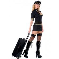 Sexy Stewardess Kostüm
