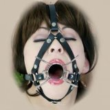 Spider Gag Geschirr: Für einen offenen Mund