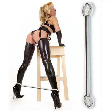 BDSM Knöchel Spreizstange Stahl. Luxury Series
