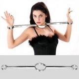 Halseisen: Halsband und Handeisen. Serie: Luxus-Edelstahl