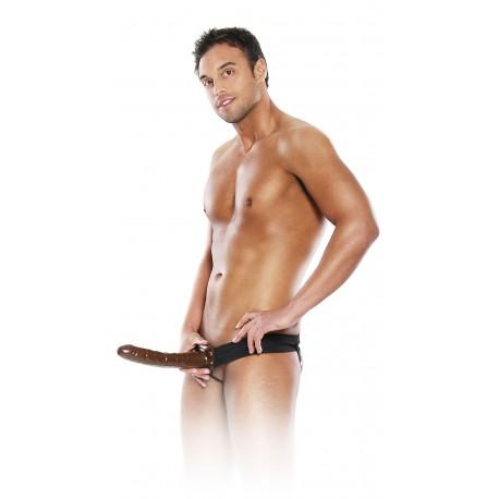 Extension de pénis : bout de chocolat avec ceinture