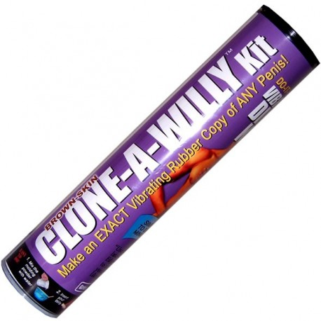 Klonen einer Willy-Kit - Cast your Penis Vibrator Dildo vibriert / Schokolade / Kerzen / Soap