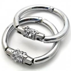 Handschellen mit Verschluss-Codeschloss