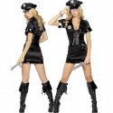 Sexy Polizistinnen Kostüm
