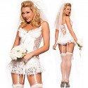 Sexy Hochzeitskleid Kostüm